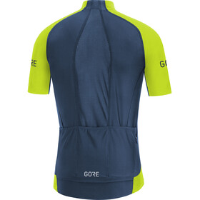GORE WEAR C7 Pro Jersey Men citrus green/deep water blue